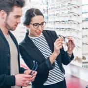 Professionalität Augenoptiker