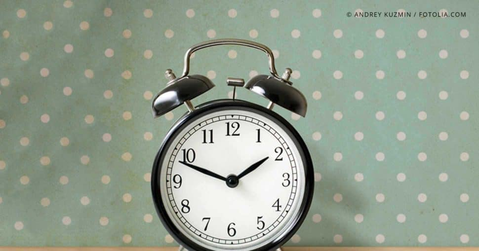 Pünktlichkeit im Job